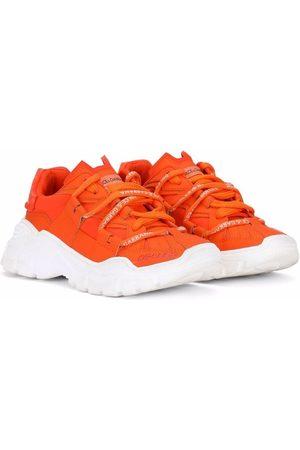 Dolce & Gabbana Jongens Sneakers - Chunky sole lace-up sneakers
