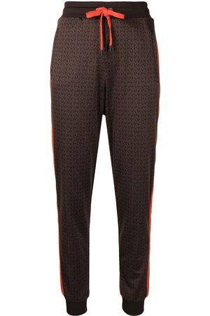 Michael Kors Dames Joggingbroeken - Monogram-pattern track pants