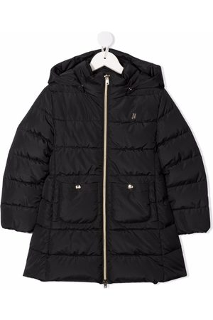 HERNO Feather-down hooded coat
