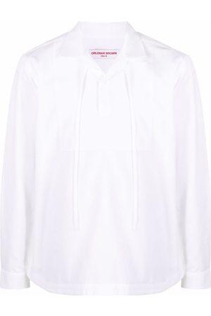 Orlebar Brown Drawstring cotton shirt