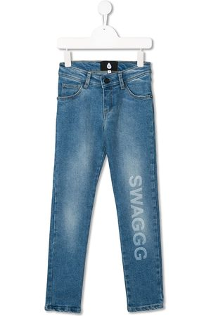 DUOltd Swagg mid-rise slim jeans
