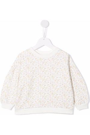 KNOT Meisjes Sweaters - Ophelia floral-print sweatshirt