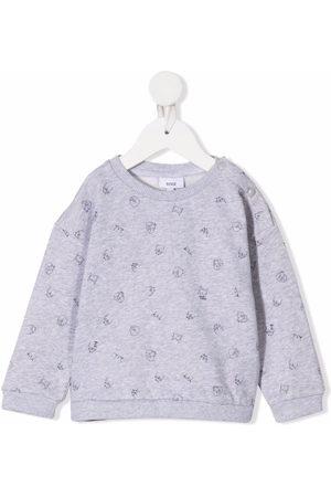 KNOT Terry Myna Bird-print sweatshirt
