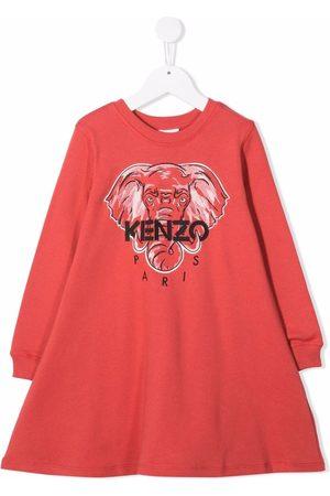 Kenzo Elephant logo dress