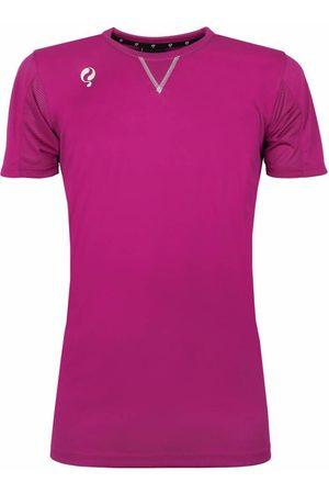 Q1905 Trainingsshirt haye rose / wit