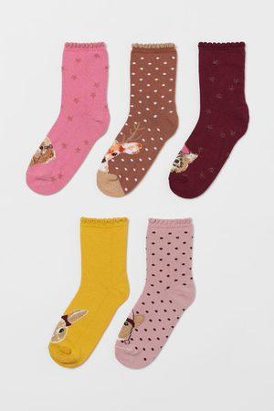 H&M Meisjes Sokken - 5 paar sokken