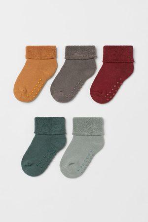 H & M 5 paar badstof sokken