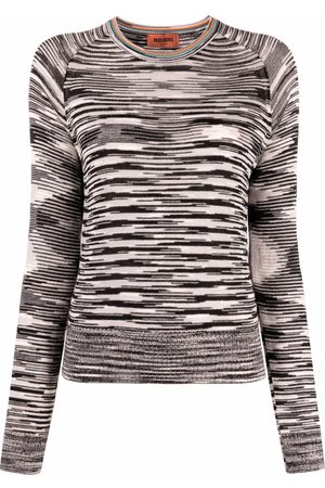 Missoni Knitted zigzag long-sleeve top
