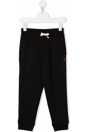 Ralph Lauren Embroidered-logo track trousers
