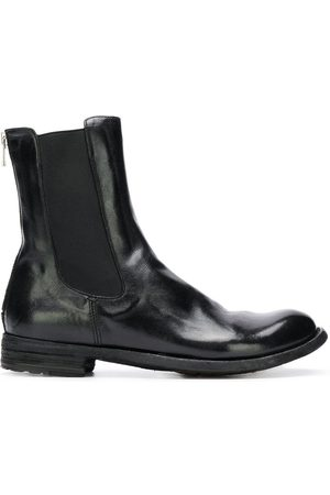 Officine creative Zipped back Chelsea boots