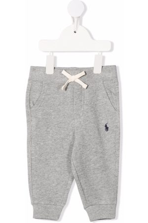 Ralph Lauren Embroidered logo drawstring trousers