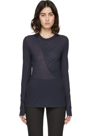 Ganni Quilted Long Sleeve T-Shirt