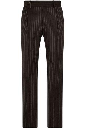 Dolce & Gabbana Pinstripe-pattern tailored trousers