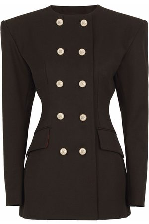 Dolce & Gabbana Shoulder-pad double-breasted blazer