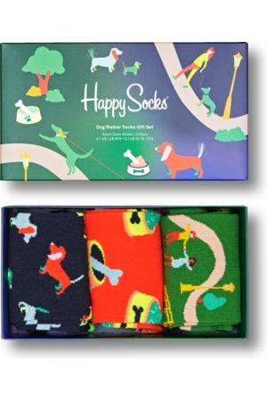 Happy Socks Sokken - Dog Walking Gift Set 3-Pack