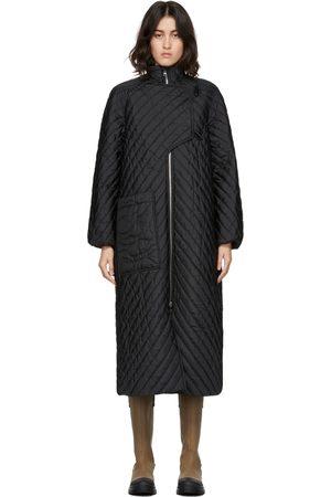 Ganni Dames Donsjassen - Quilted Recycled Ripstop Coat