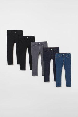 H&M Jongens Skinny - Set van 5 Skinny Fit Jeans