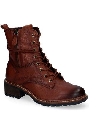 Jana Dames Laarzen - Cognac Boots