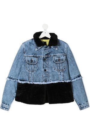 DUOltd Two-tone denim jacket