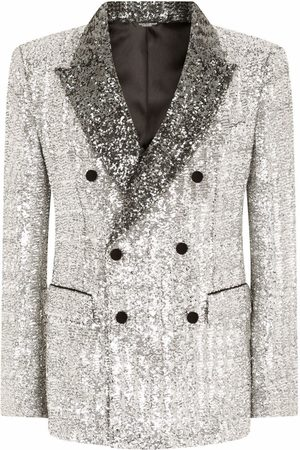 Dolce & Gabbana Sequinned double-breasted blazer