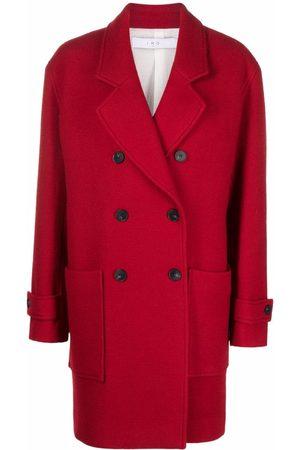 IRO Double-breasted midi coat