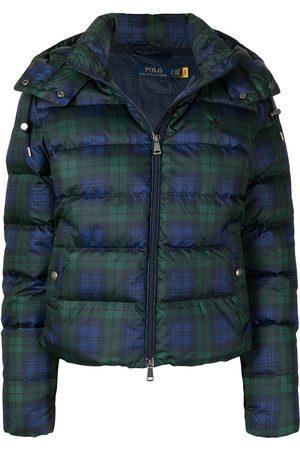 Polo Ralph Lauren Plaid check print puffer jacket