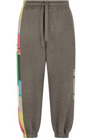 Dolce & Gabbana Stripe-detail track pants