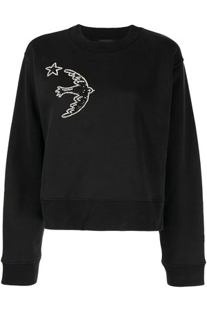 Markus Lupfer Sequin bird-embellished sweatshirt