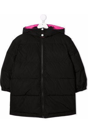 Emilio Pucci Logo-print padded coat