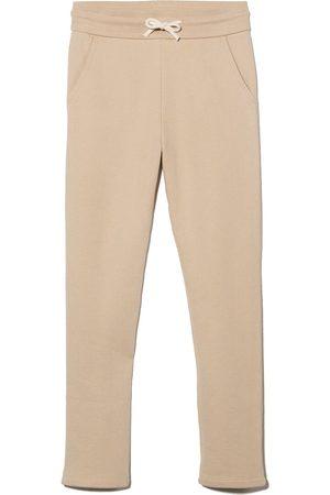 BONPOINT Drawstring-waist cotton track pants