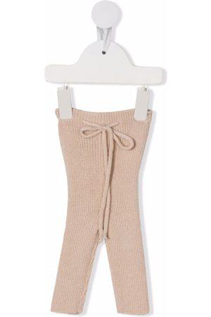 Babe And Tess Knit ribbed leggings