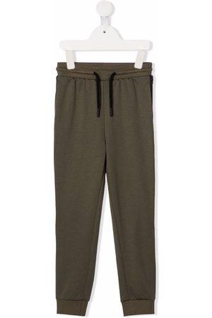 Calvin Klein Logo-tape drawstring track pants
