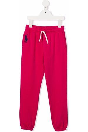 Ralph Lauren Joggingbroeken - Embroidered-logo track pants