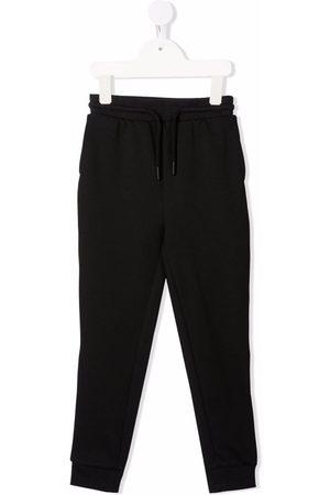 Calvin Klein Jongens Broeken - Logo-tape drawstring-waist track trousers