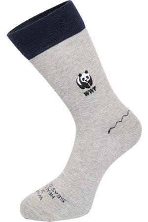 Healthy Seas Socks Heren Sokken - Humpback (WWF)