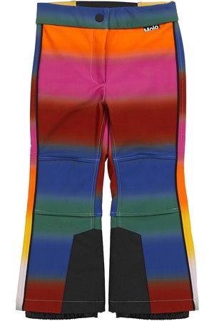 Molo Harlie striped ski pants