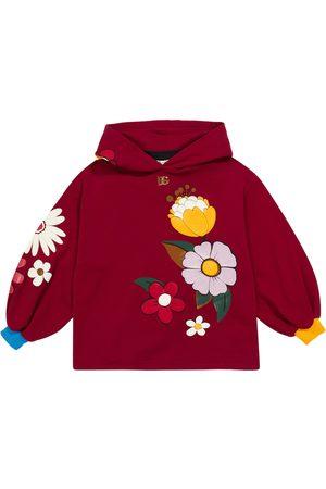 Dolce & Gabbana Floral cotton hoodie