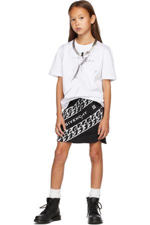 Givenchy T-shirts - Kids White Trompe-L'œil T-Shirt