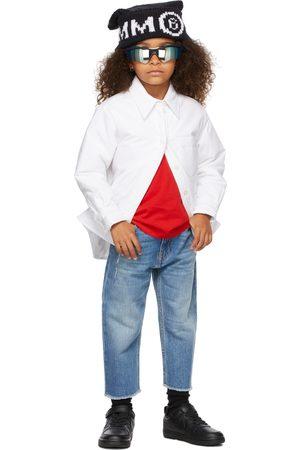 MM6 MAISON MARGIELA Donsjassen - Kids White Padded Button Up Shirt
