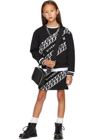 Givenchy Kids Black Chain Print Sweatshirt