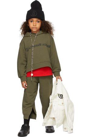 MM6 MAISON MARGIELA Kids Reverse Logo Pullover Hoodie