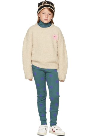 The Campamento Kids Star Embroidery Sweater