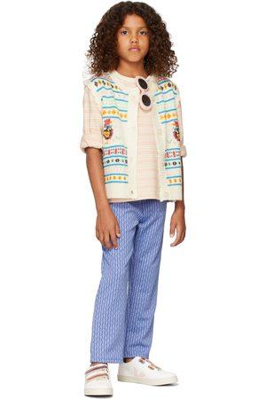 Fish & Kids Meisjes Leggings - Kids Small Flower Trousers