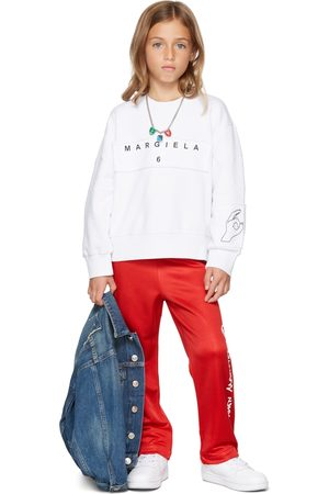 MM6 MAISON MARGIELA Sweaters - Kids 'Margiela' Hand Sweatshirt