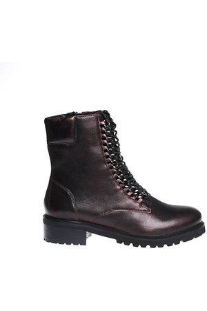 SPM Dames Enkellaarzen - Loes ankle boot bordeaux lumiere