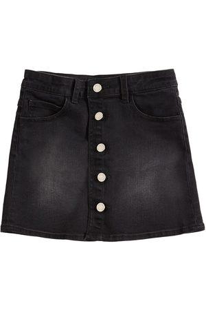 Zadig & Voltaire Embellished Cotton Denim Mini Skirt