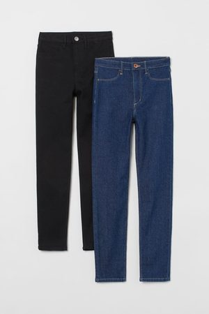 H&M Meisjes Skinny - 2 paar Skinny Fit High Jeans