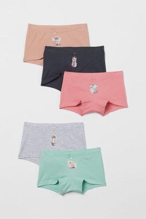 H&M Meisjes Ondergoed - Set van 5 boxershorts