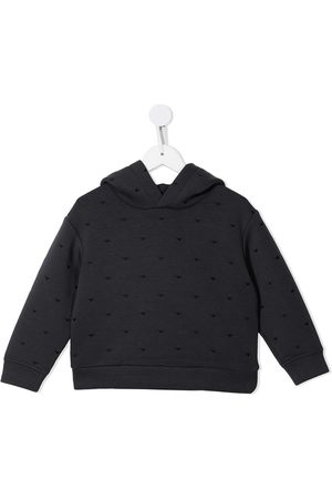 Emporio Armani Monogram-pattern hoodie