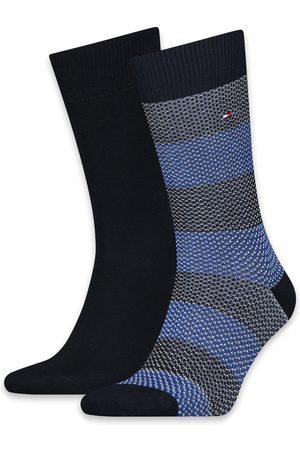 Tommy Hilfiger Sokken Men Seasonal Boot Sock 2P Birdeye Stripe